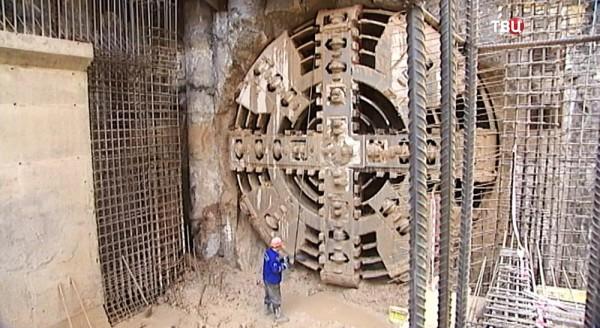 Завершена проходка первого тоннеля между станциями метро «Хорошёвская» и «Шелепиха»