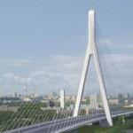 Проект самого высокого в столице вантового моста через Москву-реку