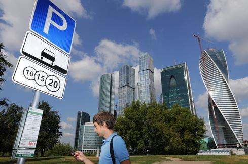 Парковка под Шелепихинским мостом