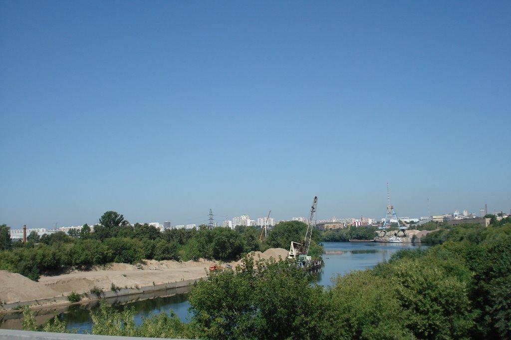 Развитие прибрежных территорий Москвы-реки