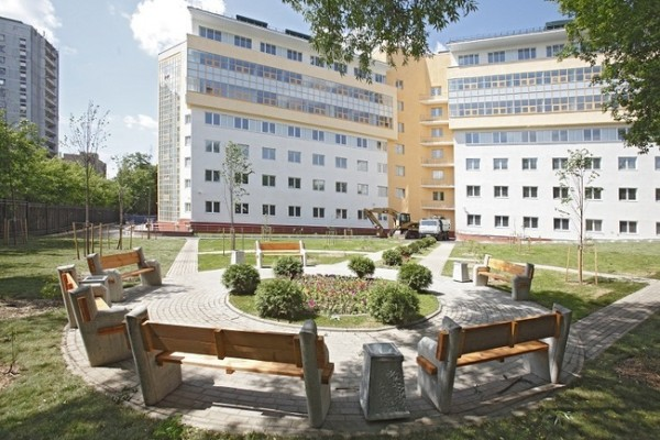 Новый корпус детской больницы им.Сперанского