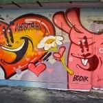 Уличные рисунки Пресни.